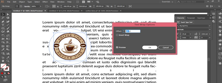 How to Warp Text in Illustrator - 30