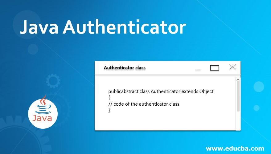 Java Authenticator