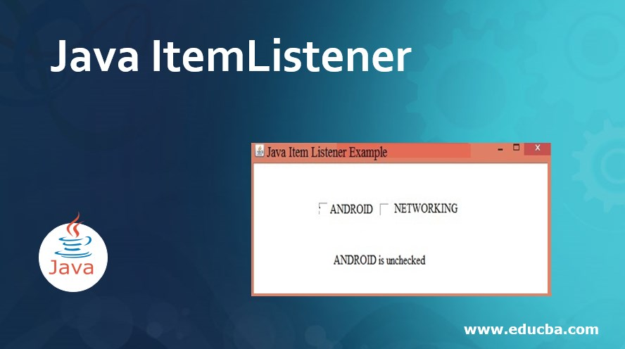 Java ItemListener