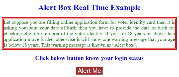 JavaScript Alert-1.1