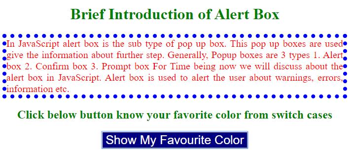 JavaScript Alert-2.1