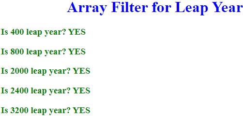 JavaScript Array Filter - 1