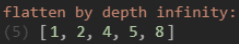JavaScript Flatten Array Example 4