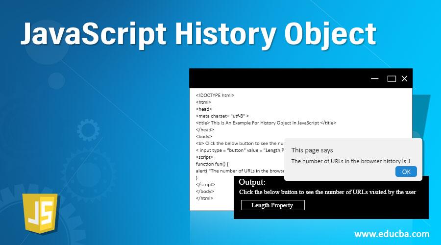 JavaScript History Object