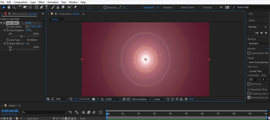Lens Flare in After Effects - 16