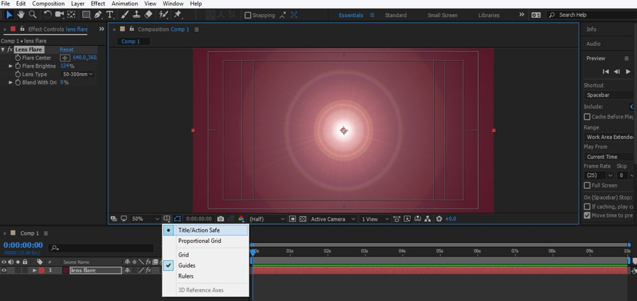 Lens Flare in After Effects - 17