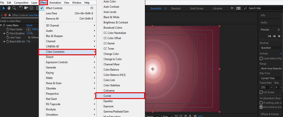 Lens Flare in After Effects - 18