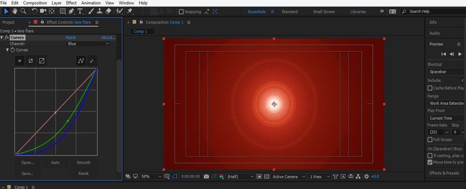 Lens Flare in After Effects - 20