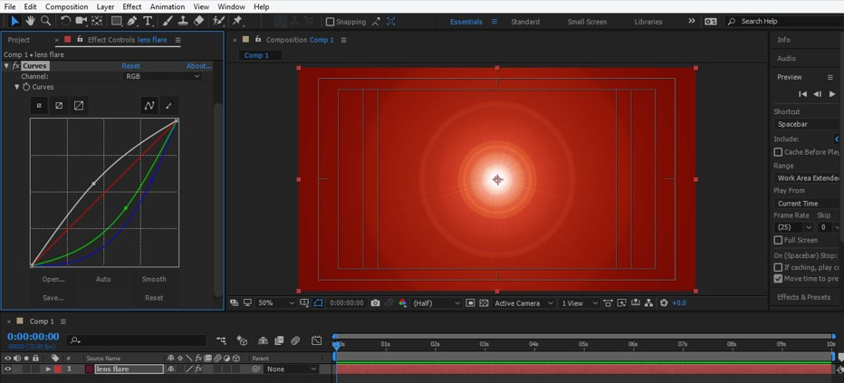 Lens Flare in After Effects - 21