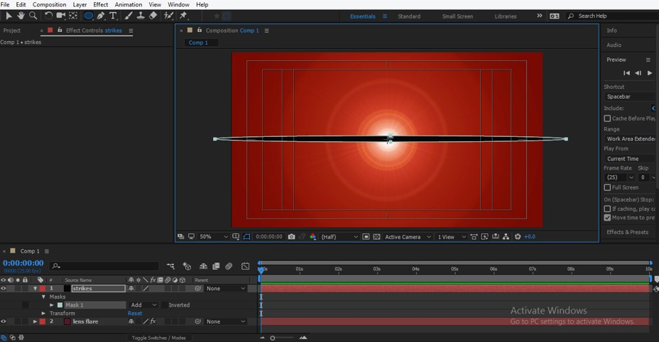 Lens Flare in After Effects - 24