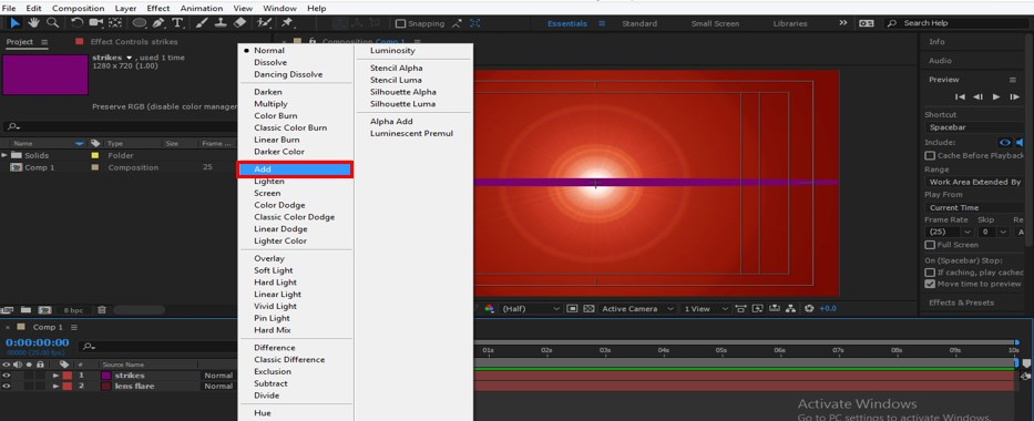 Lens Flare in After Effects - 27