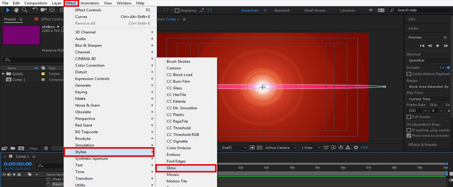 Lens Flare in After Effects - 29