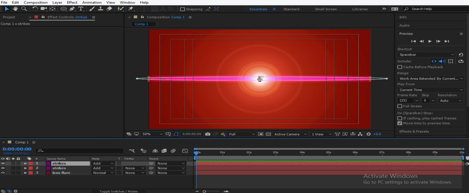Lens Flare in After Effects - 30