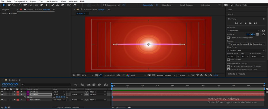 Lens Flare in After Effects - 32