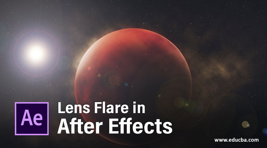 Lens Flare in After Effects