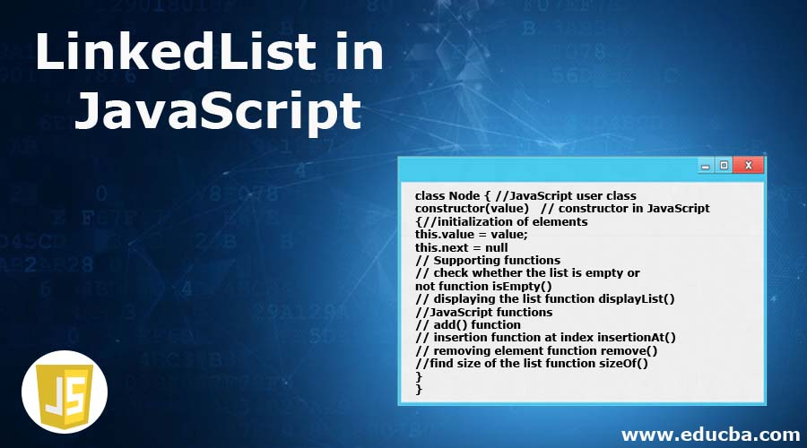 LinkedList in JavaScript