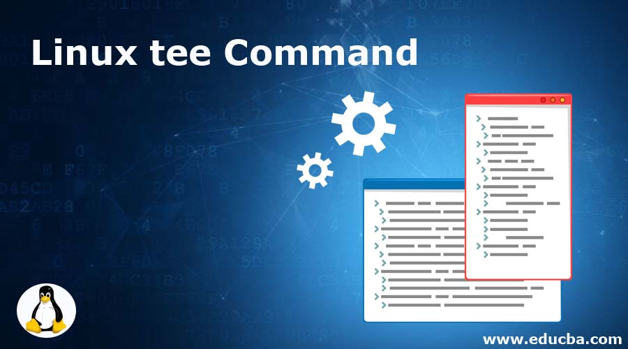 Linux tee Command