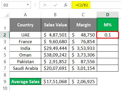 Statistics in Excel 2-2