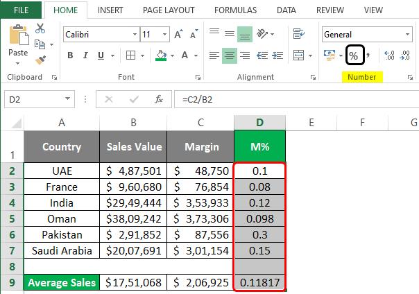 Statistics in Excel 2-4