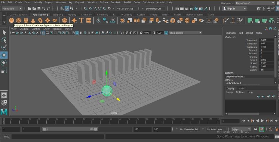 Maya Animation - 14