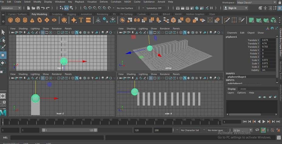 Maya Animation - 15