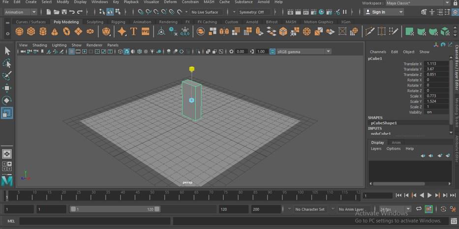 Maya Animation - 7