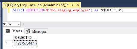 Metadata in SQL-1.1