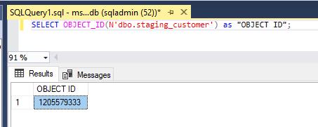 Metadata in SQL-1.3