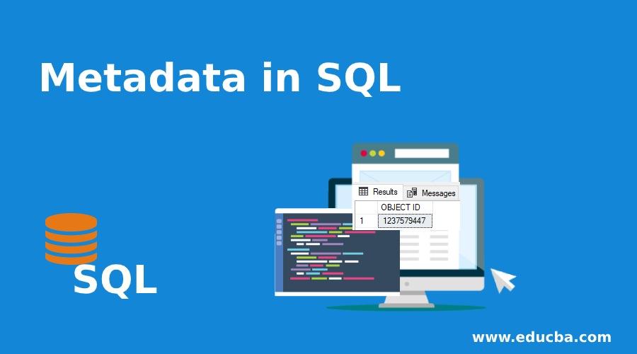 Metadata in SQL