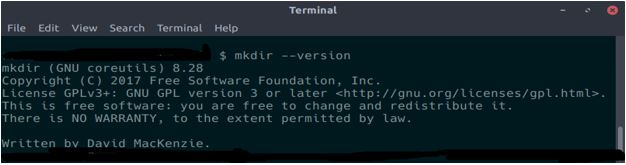 Mkdir Command in Linux3