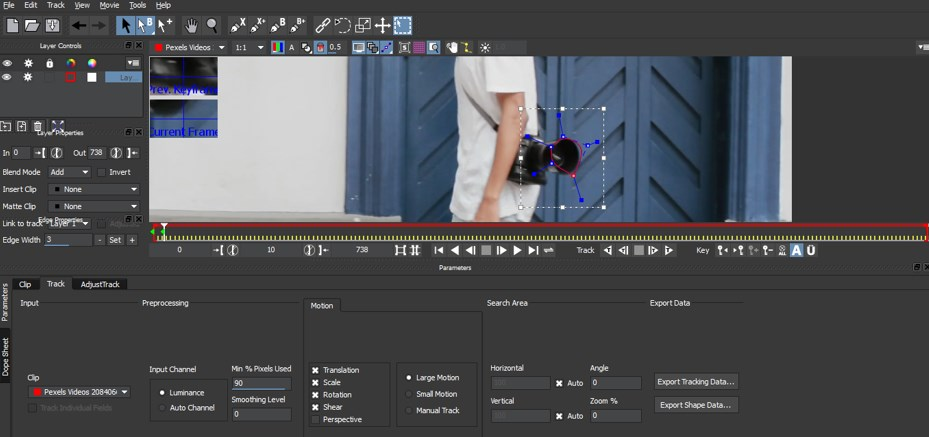 Mocha in After Effects - 10
