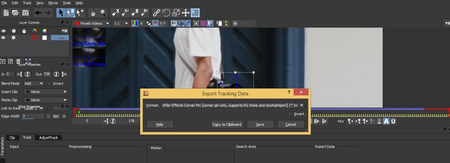 Mocha in After Effects - 15