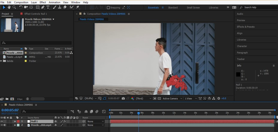Mocha in After Effects - 19