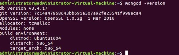 MongoDB Versions - 1