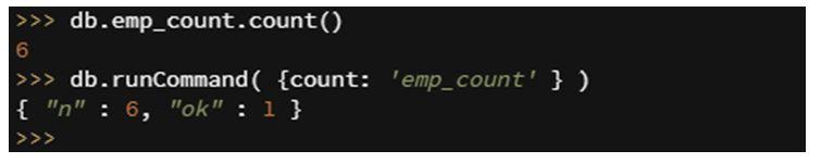 MongoDB count 2