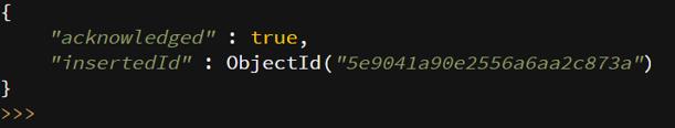 MongoDB insert - 11