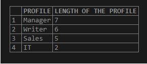 Oracle LENGTH()4