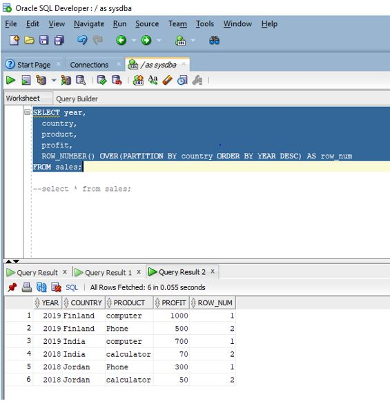 Oracle Window Functions3