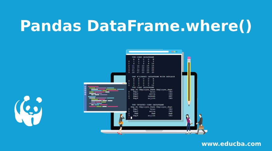 Pandas DataFrame.where()