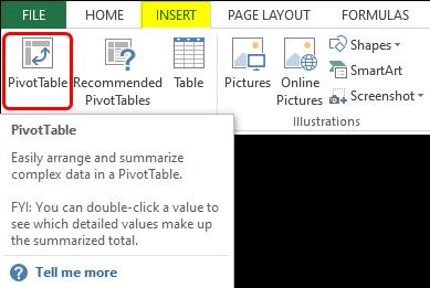 Pivot Table Count Unique 1-5