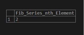 PostgreSQL LOOP output 1