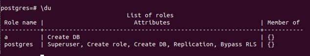 PostgreSQL List Users - 3
