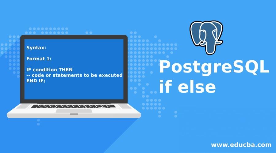 PostgreSQL if else