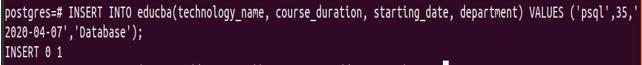 Postgresql Count output 3
