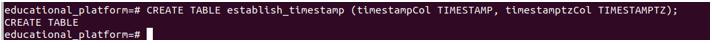 Postgresql Datetime output 2