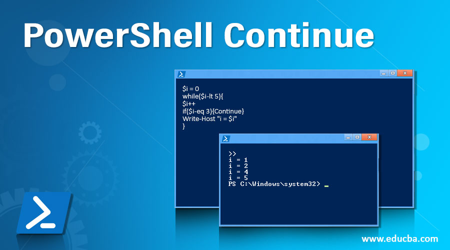 PowerShell Continue