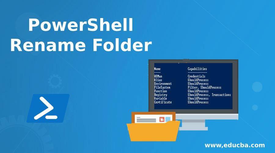 PowerShell Rename Folder