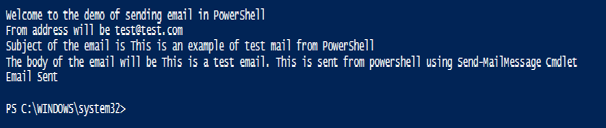 PowerShell Send Mail - 1