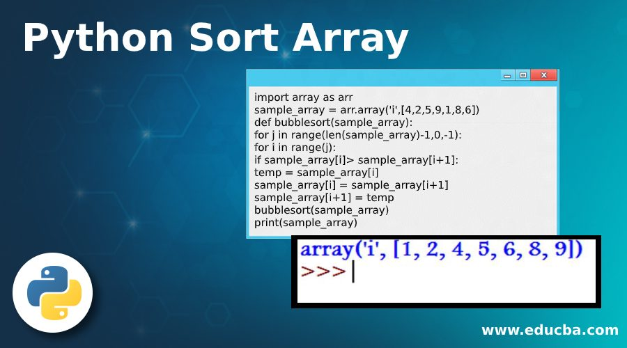 Python Sort Array