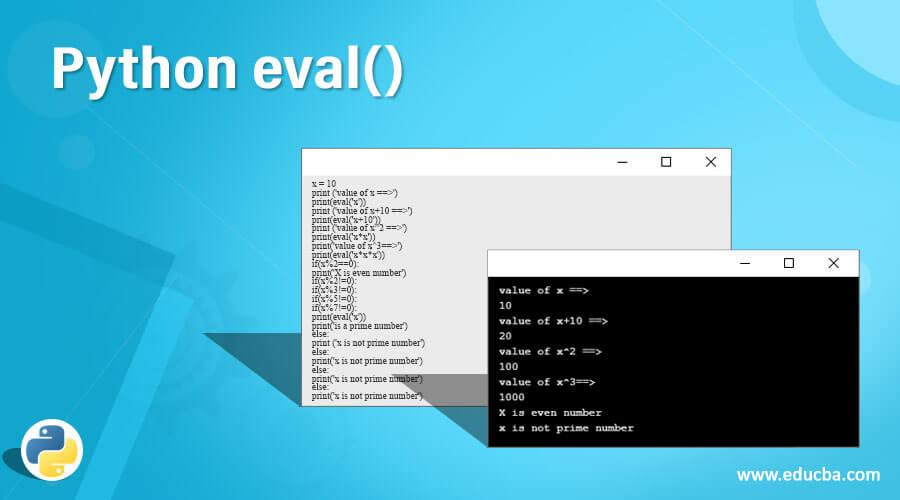 Python eval()
